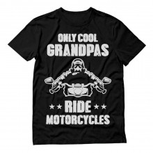 Only Cool Grandpas Ride Motorcycles