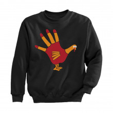 Turkey Hand - Funny Thanksgiving Children's Apparel