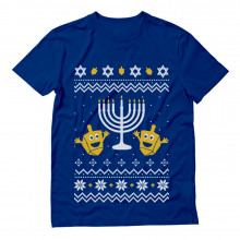 Ugly Christmas Hanukkah Sweater