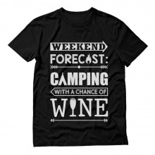 Weekend Forecast Camping with Wine