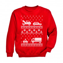 Xmas Children Clothing - Ugly Christmas Sweater Cars