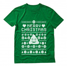 Xmas Funny Ugly Christmas Sweater - Smiley Emoticon