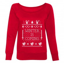 Winter Is Coming Ugly Christmas Sweater Funny
