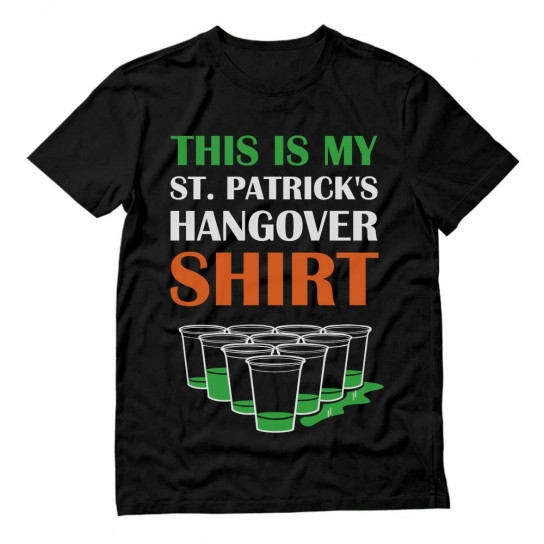 This Is My St. Patrick's Hangover Shirt