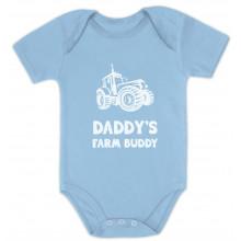 Daddy's Farm Buddy - Cute Bodysuit Farmers Babies Gift