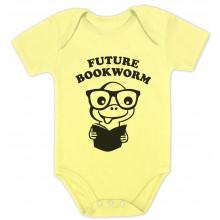 Future Bookworm - Cute Geeky Bodysuit Unisex Grow Vest