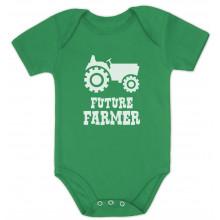 Future Farmer - Cute Baby Grow Vest Farmers Babies Gift