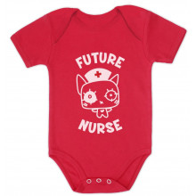 Future Nurse Cute Bodysuit Gift Idea Funny Unisex