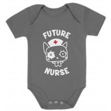 Future Nurse Cute Bodysuit Gift Idea Funny Unisex
