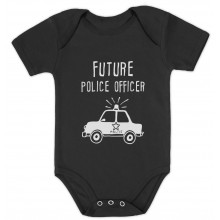 Future Police Officer Cute Unisex Bodysuit Gift Idea
