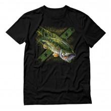 Jumping Proud Bass Fisherman Top Apparel Gift Idea