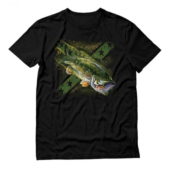 Jumping Proud Bass Fisherman Top Apparel Gift Idea