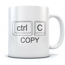 Ctrl C Copy Mug