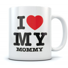 I Love Heart My Mommy - Mothers Day Gift