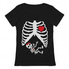 Pregnancy Funny Pregnant Xray Skeleton Baby Girl