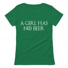 A Girl Has No Beer