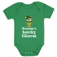 Mommy's Lucky Charm Irish Owl