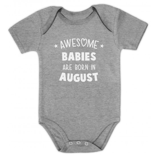 Awesome Babies Are Born In August Birthday