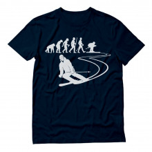 Evolution of Ski - Gift for SKI Lovers Skier Cool