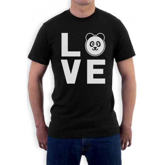 LOVE Panda - Adorable Panda Face Gift For Animal Lover