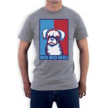 Funny Cranky Dog NO NO NO! Grumpy Puppy - Novelty