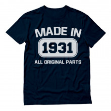 85th Birthday - Made In 1931 All Original Parts - Funny