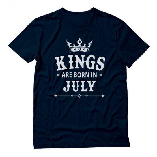 KINGS Are Born In July - Men's Birthday Gift