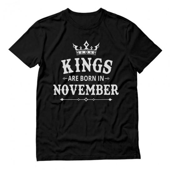 KINGS Are Born In November Men's Birthday Gift