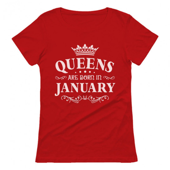 QUEENS Are Born In January Birthday Gift