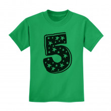 5 Kids Birthday - Superstar 5 Years Old Cute Gift Idea