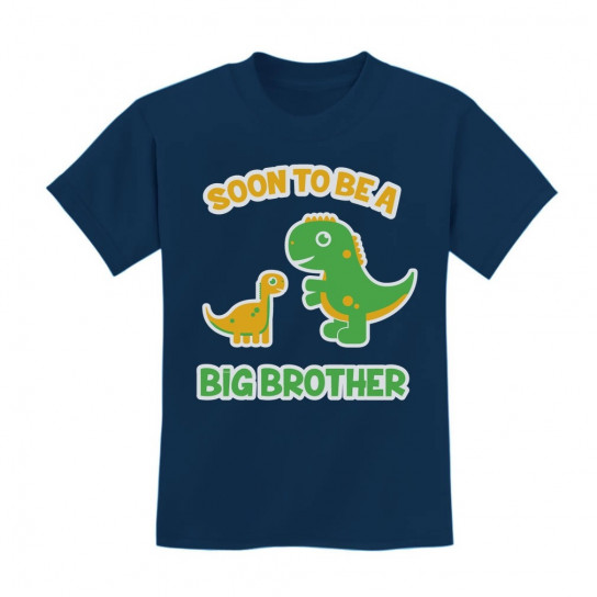 Soon To Be A Big Brother Best Gift - Dinosaur Raptor Children
