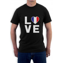 France Flag - I Love France - French Patriot Gift Idea