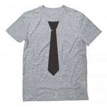 Printed Black Tie