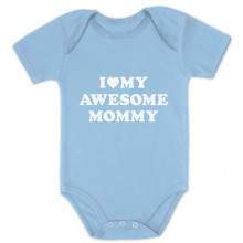 Mother Day Onesie - I Love My Awesome Mommy