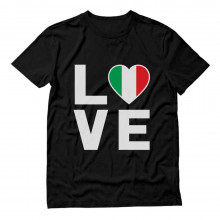 I Love Italy - Italian Patriot Flag Of Italy Gift