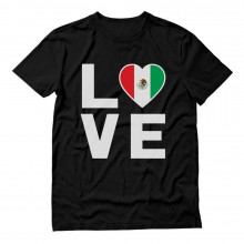 I Love Mexico - Mexican Patriot Flag Of Mexico Gift