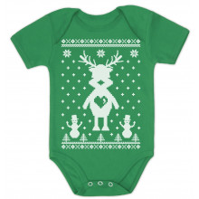 Reindeer Love Ugly Christmas Sweater Xmas Grow Vest