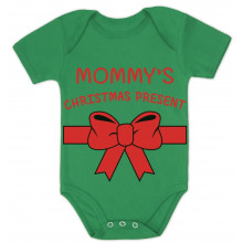 Mommy's Christmas Present - Bodysuit Cute Xmas Gift