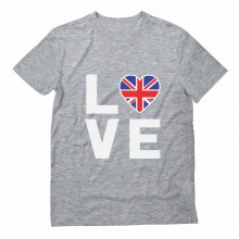 British Flag Heart - I Love The United Kingdom - Cool