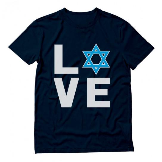 I Love Israel - Jewish Star of David Support Israel