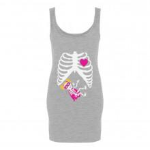 Super Hero Baby Girl Pregnancy Skeleton