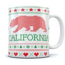 Cali Bear Ugly Christmas Mug