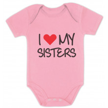 I Love My Sisters Siblings Baby Shower Gift Babies