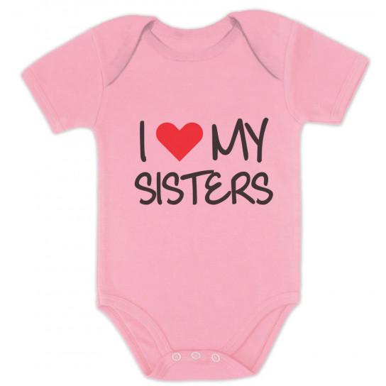I Love My Sisters Siblings Baby Shower Gift Babies