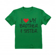 I love My Brother & Sister Siblings Gift Children