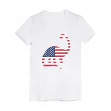 USA Dinosaur American Flag 4th of July Children
