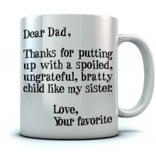 Dear Dad, From Your Favorite - Mug