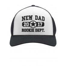 New Dad 2017 Rookie Department Cap