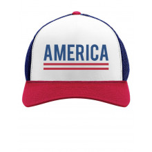 America 4th of July USA Patriotic Cap