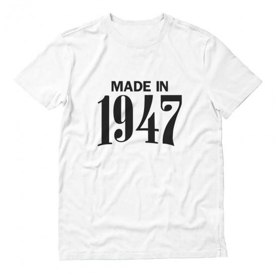 Made in 1947 Retro